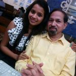 Mayuri wagh and her father Girish Wagh