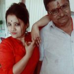 Pooja Thombare and Her FatherSudhakar Thombare