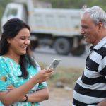 Sayali Pankaj and her father Subodh Joshi