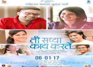 Ti Saddhya Kay Karte (2017) Marathi Movie
