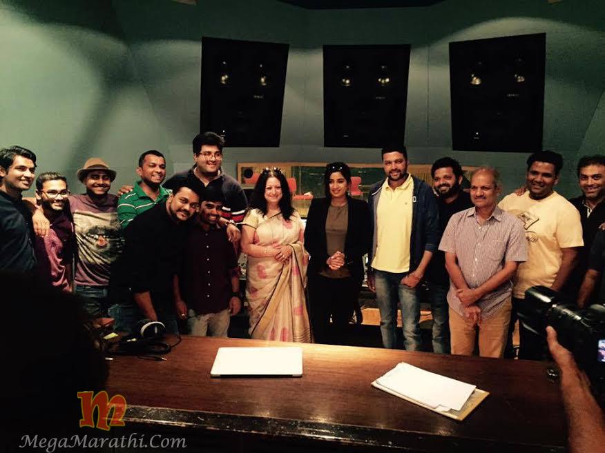 Deva Marathi Movie Song Recording By Shreya Ghoshal