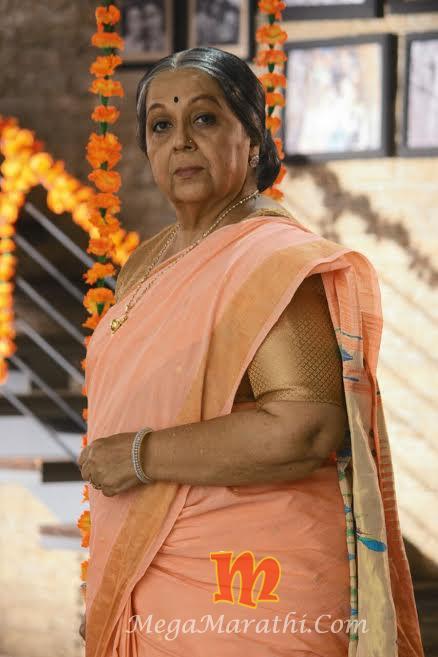 Rohini Hattangadi For Sakhya Re Serial