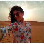 Sonalee Kulkarni In Desert