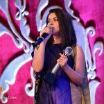 Sonalee Kulkarni Receiving Award